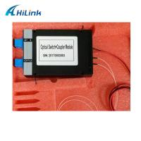Buy cheap Fiber PON COUPLER Mechanical Optical Switch With ABS Box Module product