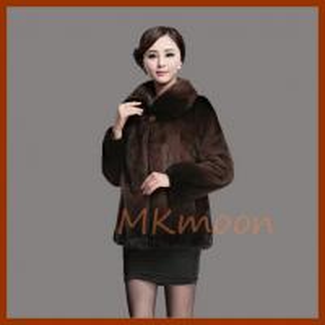 mink fur coat 131#
