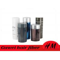 Buy cheap Black Color Instant Hair Thickening Fiber For Bald Spot Undectectable product