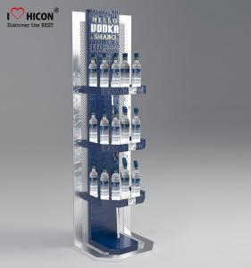 Buy cheap Painting / plating Pop Merchandise Display Custom Floor Beverage Display Stand product