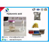 Buy cheap China Supplement Hyaluronic Acid Pure For Skin Care/Anti-oxidation /Cosmetic Grade Acid CAS 18917-89-0 For Anti-aging product