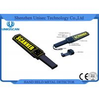Buy cheap MD3003B1 Super Scanner Handheld Metal Detector Certificated with CE / ISO Pakistan product