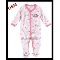 Buy cheap 100% cotton long sleeve pant romper babies clothes for baby product