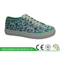 China Skate Shoe Vibrant Kids Foot-friendly Floral Sneaker 1616214-2 on sale