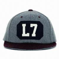 Buy cheap Hot Sale Favorites Compare 100% Cotton Custom embroider logo,snap back 100% cotton caps sports caps(YC-BN005) product