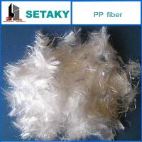 Buy cheap polypropylene fiber for making cement commixture filling product