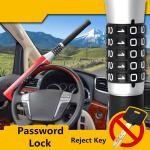 Buy cheap Car Steering Wheel Lock 5 - Digit Password Type Anti - Hydraulic Shear Safety Lock product