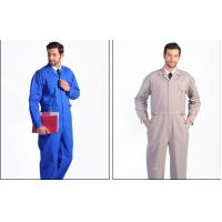 Buy cheap Anti - Static Flame Retardant Insulated Coveralls Oil Resistant For Gas Station product