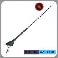 Buy cheap Auto Car Roof Antenna , Car Electric Aerial Led Light 41cm Mast Length product