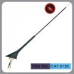 Buy cheap Auto Car Roof Antenna , Car Electric Aerial Led Light 41cm Mast Length product