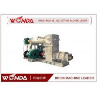 Buy cheap Reamer Soild Clay Brick Making Machine , Clay Brick Extruder Machine Large Output product