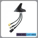 "Buy cheap Round Shape Car Gsm Gps Antenna , AM FM Car Antenna 12"" Cable Length product"