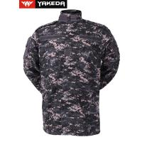 Buy cheap Anti UV Army Camouflage Clothes With Zigzag Stitched Mandarin Collar product