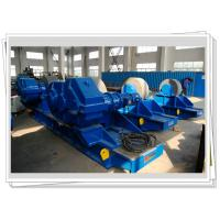 Buy cheap 400ton Bolt Conventional Welding Rotator Adjustable With Steel Wheel product