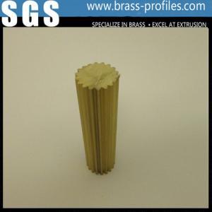 Buy cheap Barre d'en cuivre de l'alliage C38500 avec la forme ronde/profils en laiton de expulsion product