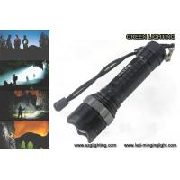 China GL-F002 XML-T6 Rechargeable Led Torch , 10W 1200 Lumen Cree Led Flashlight on sale
