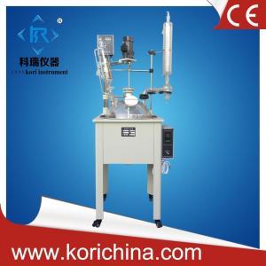 Buy cheap одностеночные стеклянные реакторы 10ЛАтмосферик для пользы опытного завода product