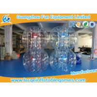 Buy cheap Skill Printing Inflatable bumper balls for adults / Entertainment inflatable body bumpers product