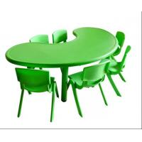 60mm Tube Green Kids Study Table And Chair Set Plastic Material Of Naturalhome