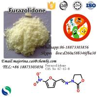 China Furazolidone Antibacterial Agents Antimicrobial Fungicide for Anti - Infective Drugs CAS: 67-45-8 on sale