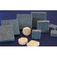 Buy cheap Efficient Silicon Carbide Alumina Ceramic Foam Filter For Metal / Casting from wholesalers