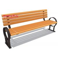 Buy cheap Backyard Wooden Outdoor Park Benches With Back Element School Household Use product
