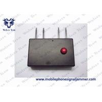 Buy cheap Portable Quad Band RF Jammer 310MHz / 315MHz / 390MHz / 433MHz 400mA Working Current product