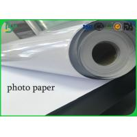 Buy cheap Roll 24inch 36inch absorb printing ink one side  high glossy photo paper from wholesalers