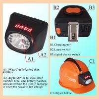 Msha Approved 4 5ah Rechargeable Mining Hard Hat Led