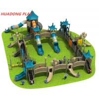 Buy cheap Fable Series Kids Outdoor Playset Equipment , Commercial Playground Slides from wholesalers