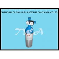 Buy cheap 1.68L CO2 Beverage DOT Aluminium Gas Cylinder 111.2mm Diameter product
