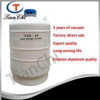 Buy cheap 35L Liquid nitrogen transport tank 50 mm Caliber cacuum container manufacturer product