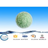 Buy cheap High purity chemical ferrous sulfate blue green crystals for producing disinfectant product