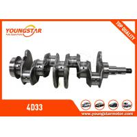Buy cheap MITSUBISHI Canter 4D33 Diesel Engine Crankshaft 3.4D ME - 018297 ISO 9001 product