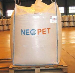 FIBC large one Ton Bulk Bags 1 tonne bags for PET / PTV / PP / PAT Chemical Industry