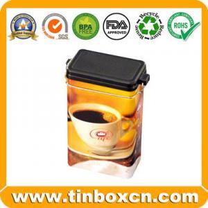 Buy cheap Boîte de bidon de café, boîte de café, boîte de bidon de nourriture, emballage de boîte en fer blanc en métal product