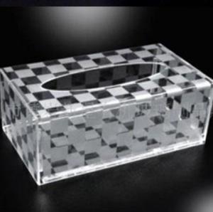Buy cheap Customized Acrylic Tissue Box,Tissue Box Cover product