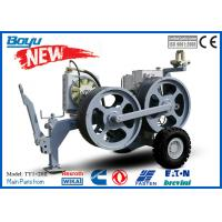 China 20 kn No Engine Tensioner Tension Stringing Equipment Speed Reducer German Rexroth 800mm Bull Wheel on sale