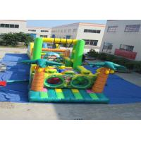 Buy cheap Big Party Games Kids Inflatable Obstacle Courses Double Stitching 25.9 X 3.66 X 4.9m product