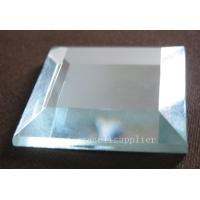 Buy cheap 50x50mm high quality hot sale edge polished clear sheet glass with cheap price from wholesalers