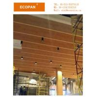 Sound Absorbing Gypsum Board : Mm subway station used fiberglass acoustic sound