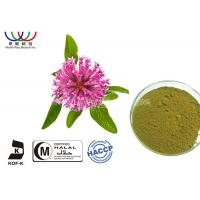 Buy cheap Natural Isoflavones Red Clover Extract Trifolium Pratense Powder For Women Supplement product