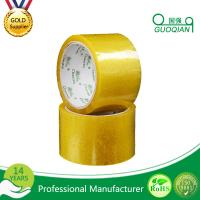 Buy cheap Carton Adhesive Transparent BOPP Packing Tape Customized 48mmx66mm Width product