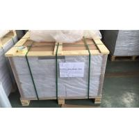 Buy cheap 0.1Mm Overlay Transparent Plastic Sheets With Glue Film For Offset Printing , 0.06mm-0.10mm product