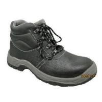 Buy cheap Cow Leather Upper Steel Toe Cap PU Outsole Safety Shoes (ABP1-1004) product