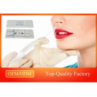 Buy cheap Temporary Lip Filler Dermal Filler Injections 25mg/ml For Cheek Nose product