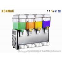 Quality 9L×4 1200W Automatic Commercial Beverage Dispenser For Milk Beverage for sale