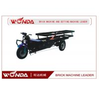 Buy cheap Flat Bed Vehicle Electric Cargo Trike Transporting Clay Bricks 900mm Wheel Base from wholesalers