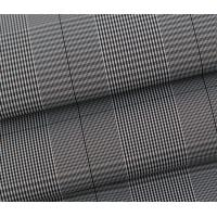 Buy cheap Yarn Dyed Polyester Memory Fabric,Stripe Memory Fabric product