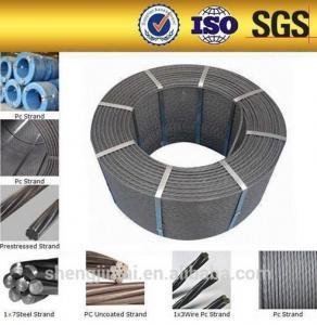 Buy cheap ancle los precios/que pretensan del alambre filamentos de acero concretos/filamentos del cable product